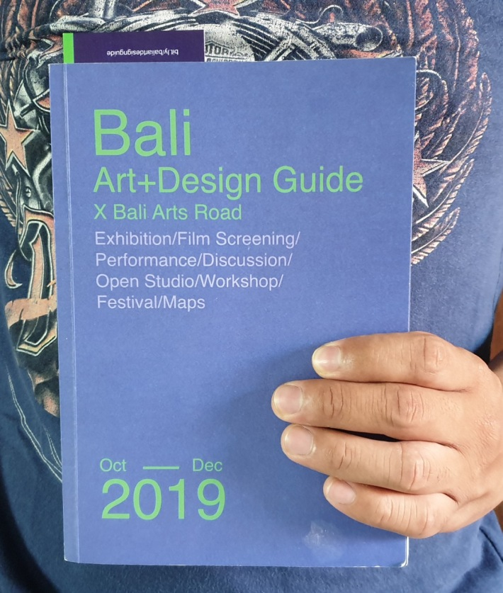 "The ""Bali Art+Design Guide X Bali Art Roads"" Oct - Dec 2019 Image Richard Horstman"