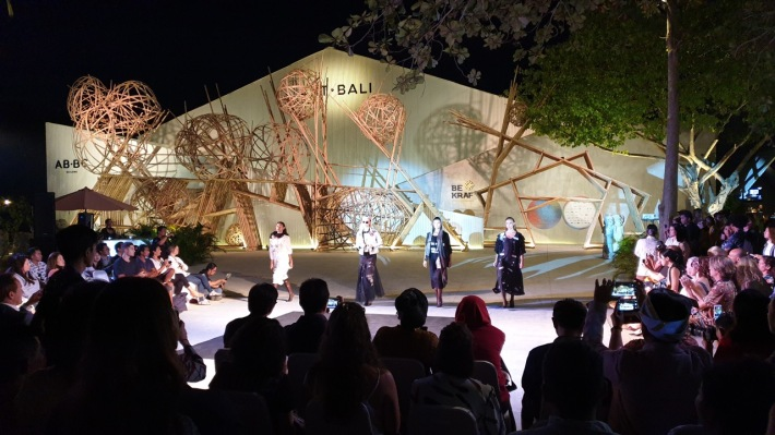 "The opening of Art Bali 2019 ""Specultive Memories"" was highlighted by a fashion parade by the Fashion Council of Western Australia (FCWA) which annually holds the Perth Fashion Festival (PFF) Image Richard Horstman"