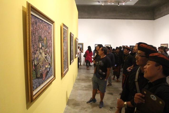 Exhibition Kelompok Seniman Batuan-IBU RUPA BATUAN Image coutesy of Bentara Budaya Bali