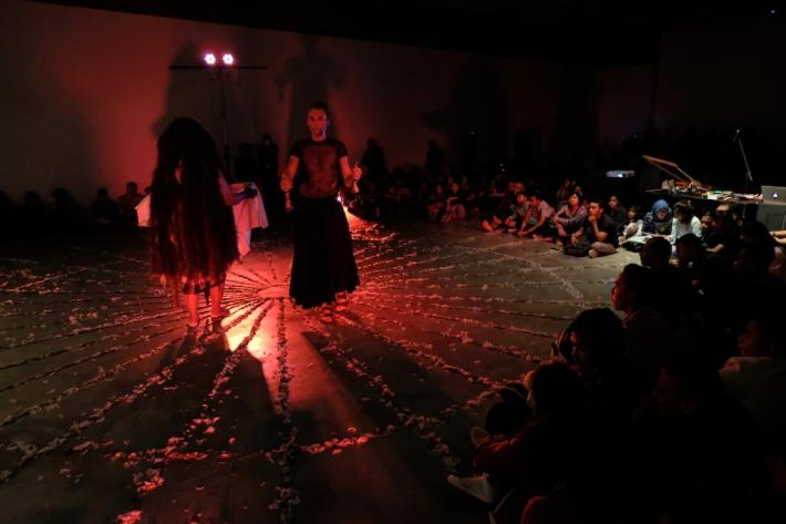 TERRITORIUM-NORWAY Collaborative Performance Image courtesy of Bentara Budaya Bali(1)