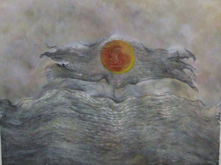 'Dewi Rati' 2009, 150 x 200 cm.